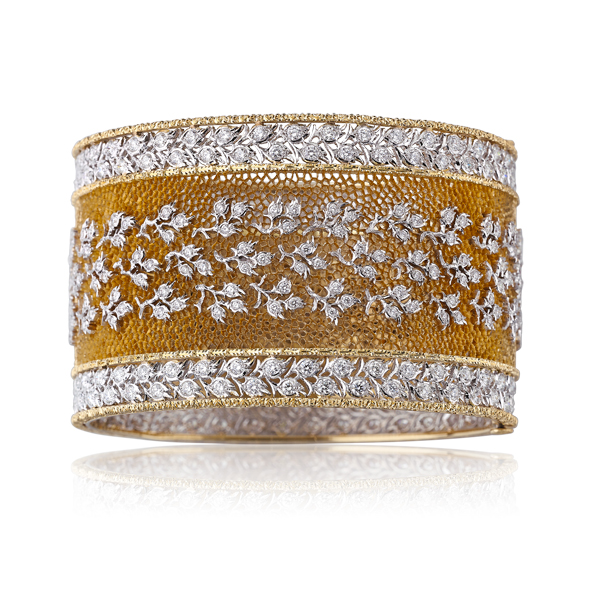 bracelet de la collection Tulle de Buccellati